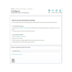Facebook Conversion Pixel + Públicos Personalizados para Prestashop
