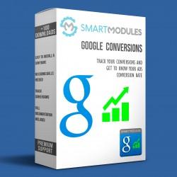Měření konverzí Google...