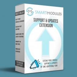 Extensión del soporte y...