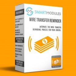 Wiretransfer Reminder