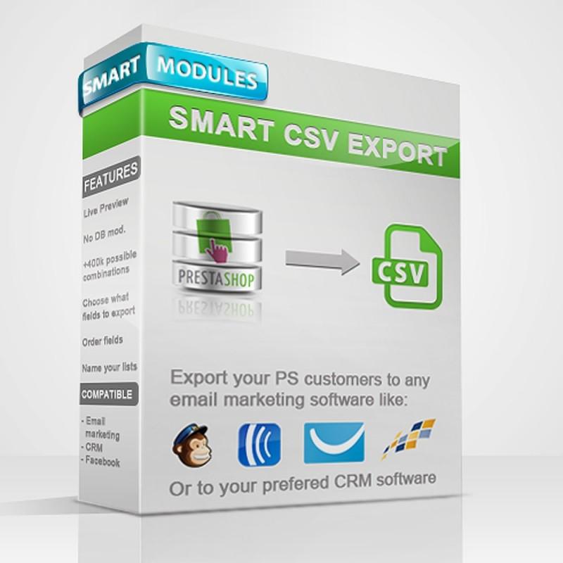 Listas CSV Inteligentes para Prestashop